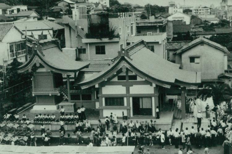 昭和47年/八坂神社(平之町)